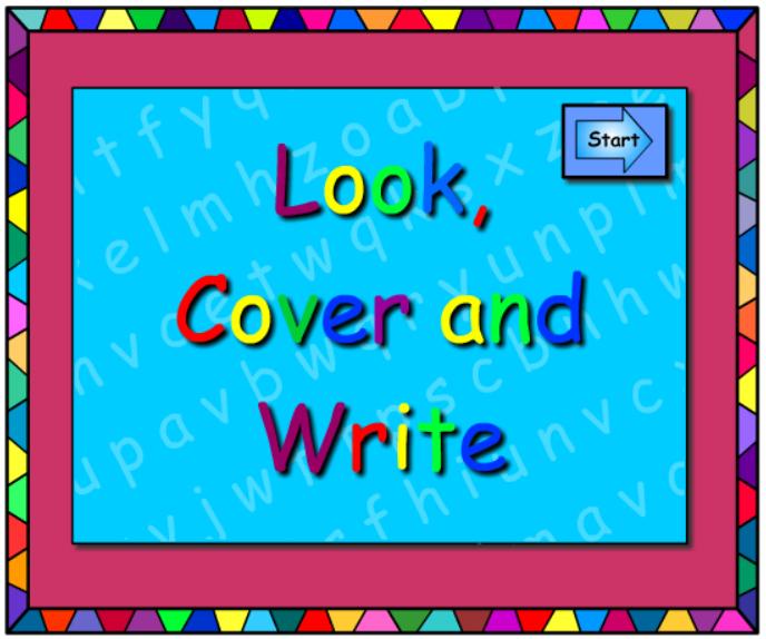 ai - Look Cover Write