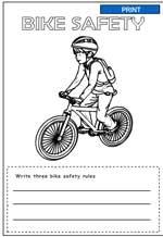 math worksheet : bicycle safety worksheets kindergarten  worksheets for education : Safety Worksheets For Kindergarten
