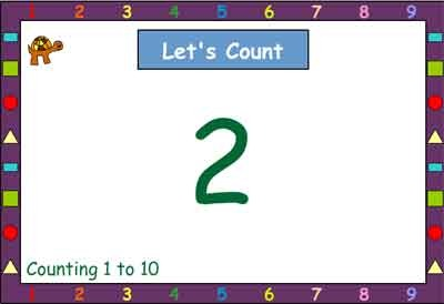 Let's Count Together 1-10
