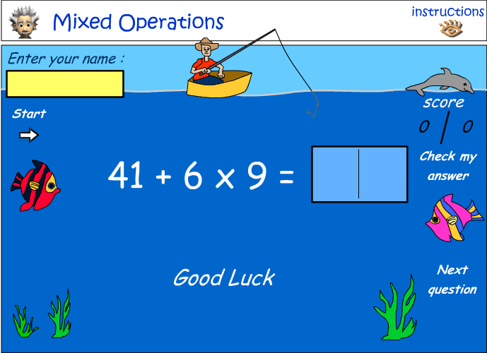 Mixed number operations - combination 4
