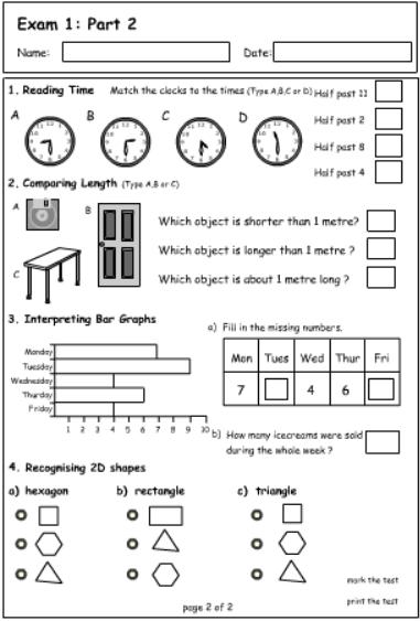 Exam 1 Part 2