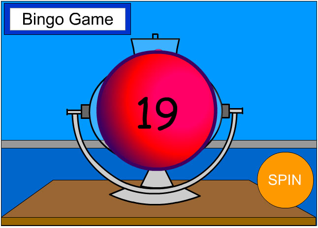 Bingo GAME WHEEL
