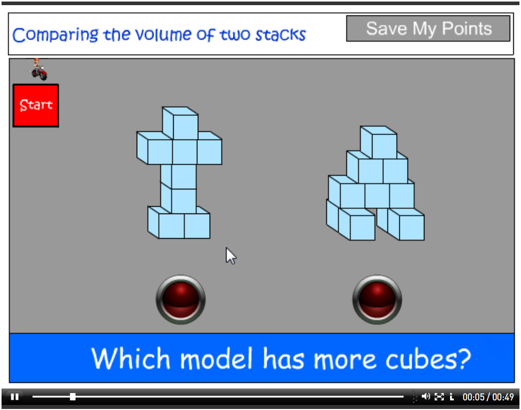 Comparing the volume of two stacks tutorial