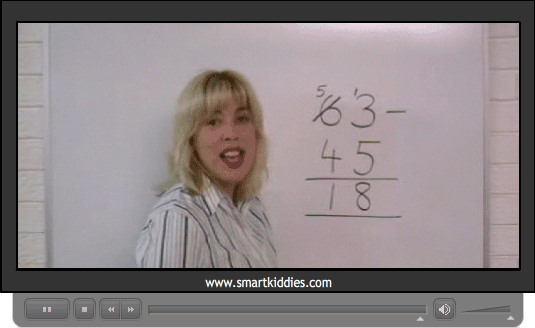 Subtracting two digit numbers (written strategy)