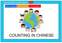Counting to 10 in Cantonese