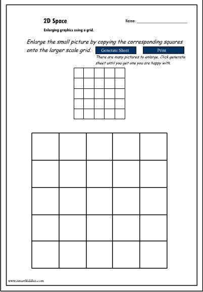Enlarging graphics using a grid no.2