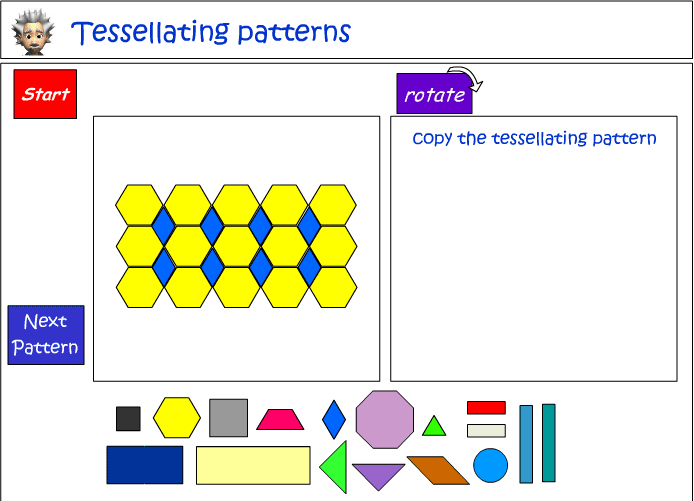 Tessellating patterns