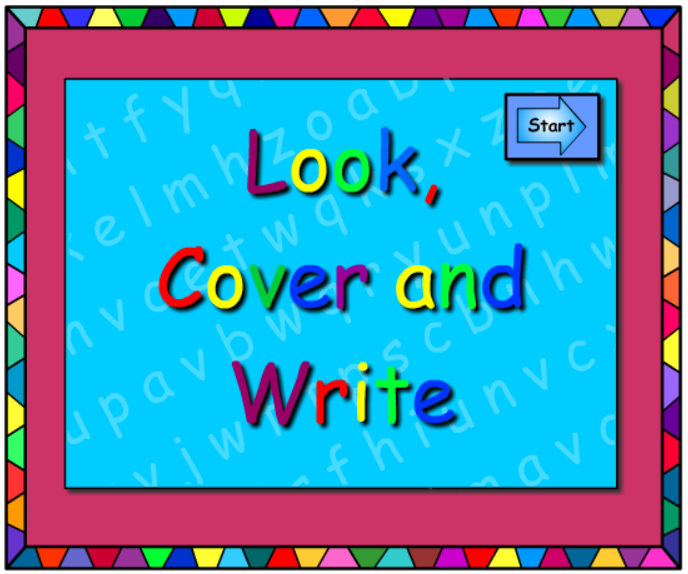 ai - Look Cover Write