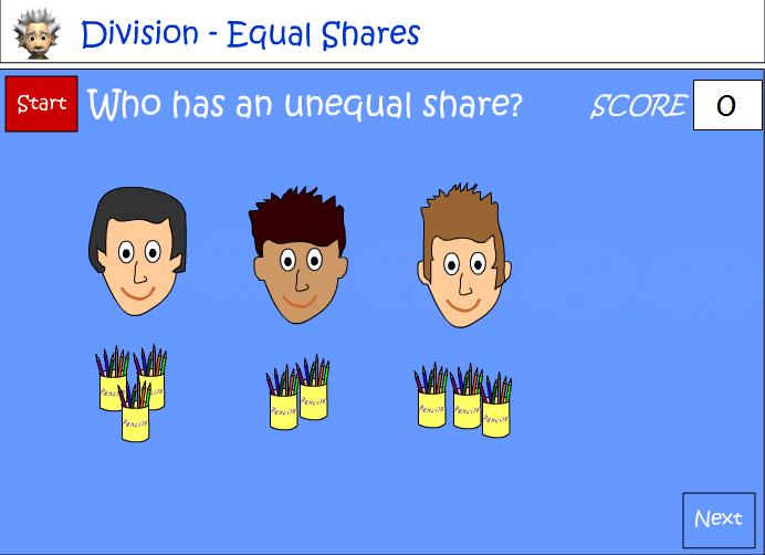 Sharing equally