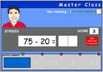 Subtracting numbers under 20 from numbers under 100