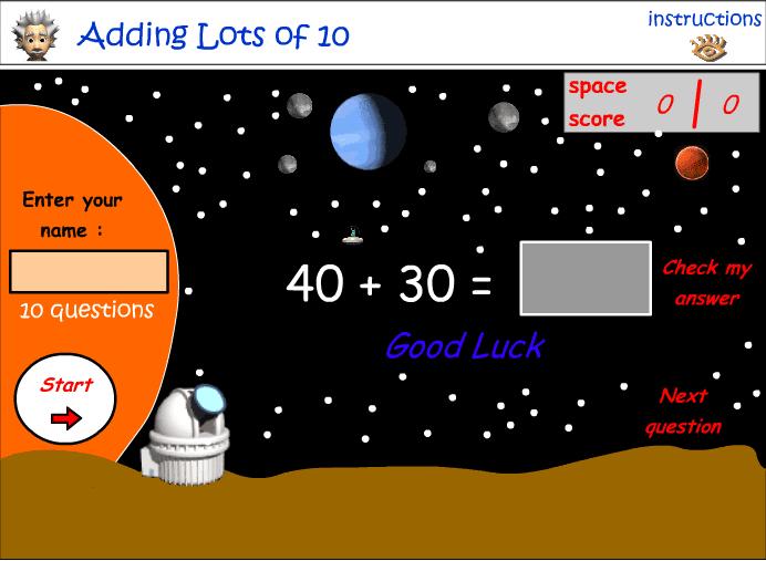 Lunar Space Game