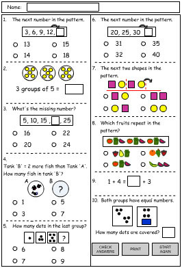 Patterns Problem Solving