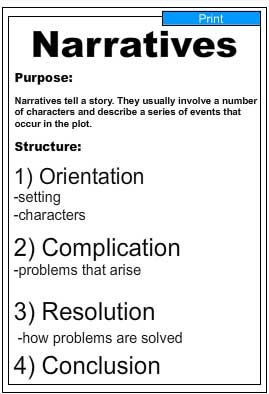 Writing Guide -Narrative