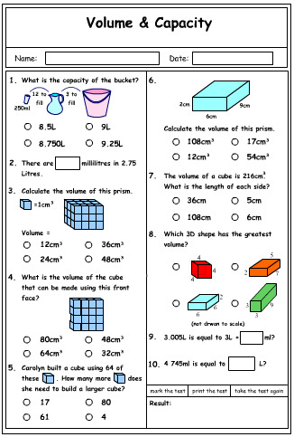 Volume Problem Solving 2